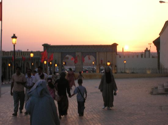Mequinez, Marruecos: Sunset in Meknes