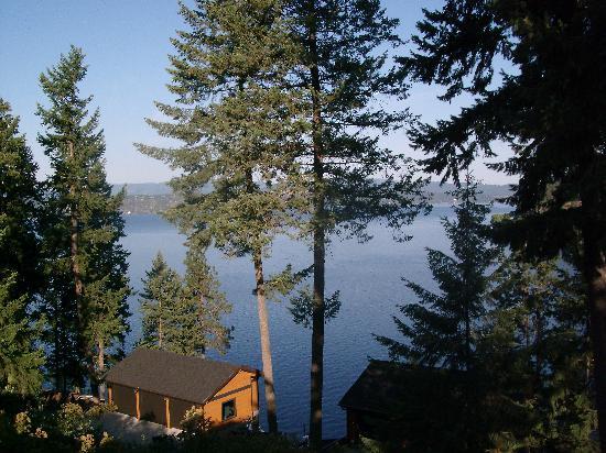 Bennett Bay Inn : Lake Couer d Alene from the deck