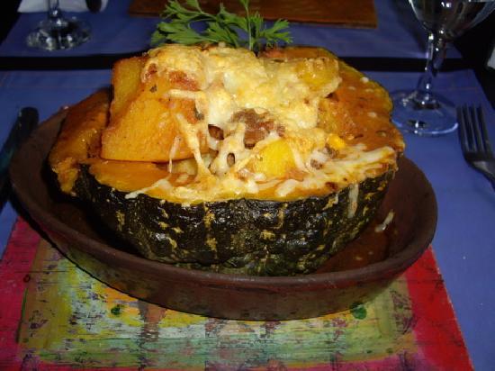 Pura Vida Resto Bar: pumpkin stew