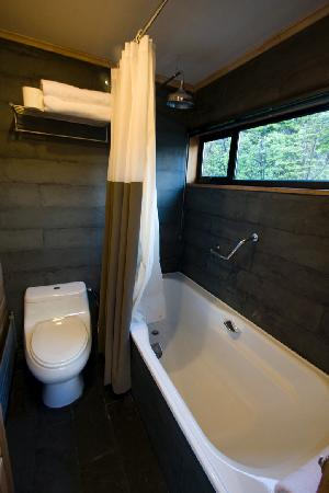 Patagonia Camp: Inside Bathroom