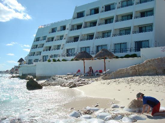 Flamingo Cancun Resort Edificio Del Hotel
