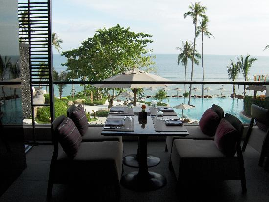 ShaSa Resort & Residences, Koh Samui: View from Z restaurant