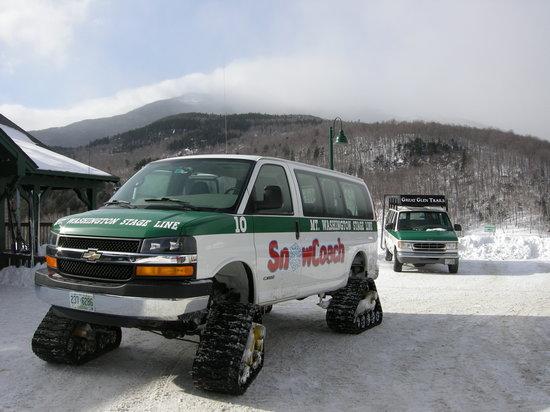 Mount Washington Auto Road: Snow Cats at visitor center