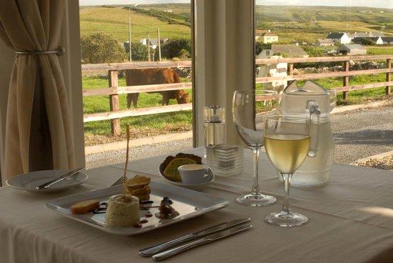 Roadford House Restaurant : Window Seat At the Fabulous Restaurant