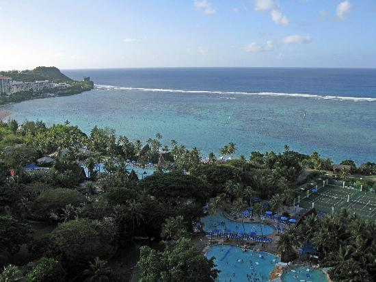 Pacific Islands Club Guam: Ocean View from North Tower