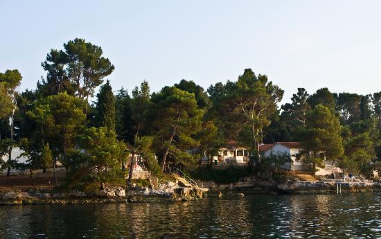 Villa Laguna Galijot: the coastline