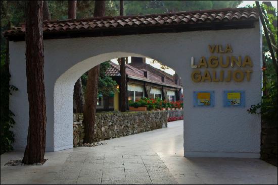 Villa Laguna Galijot: entrance