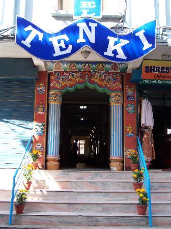 Kathmandu Grand Hotel: Eingang zum Hotel