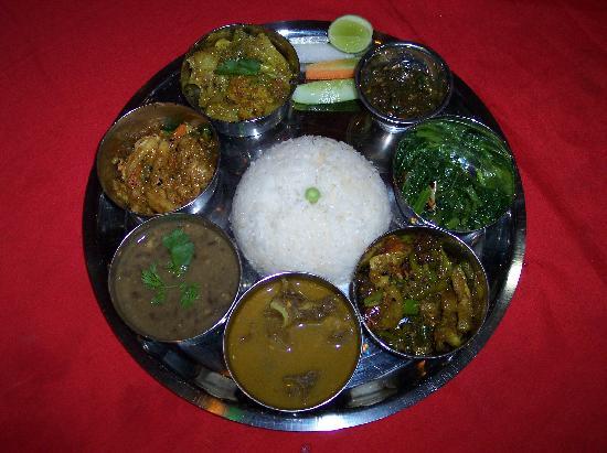 Kathmandu Grand Hotel: das köstliche traditionelle Essen