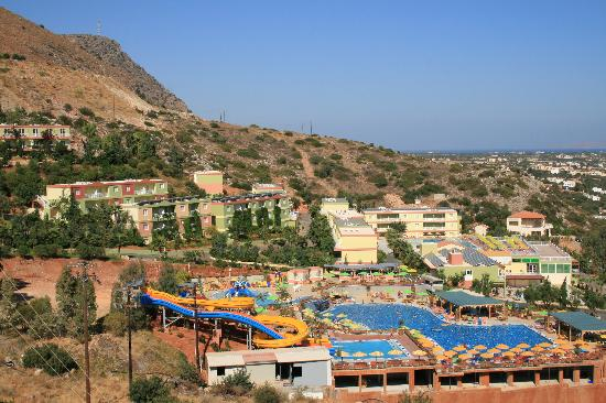 Eri Sun Village Water Park: vue de eri sun village