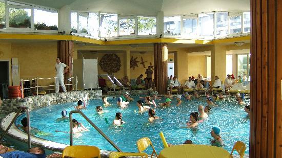 Panoramic Hotel Plaza: La piscina interna