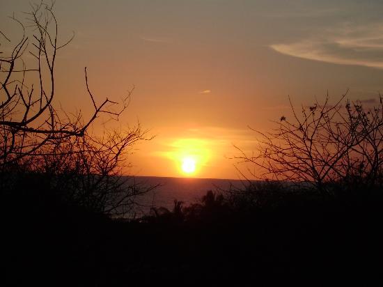 โรงแรม ลาตอร์ตูกัส: Sunset from appartment