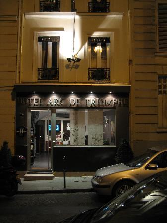 Hotel Arc de Triomphe : Hotel reception