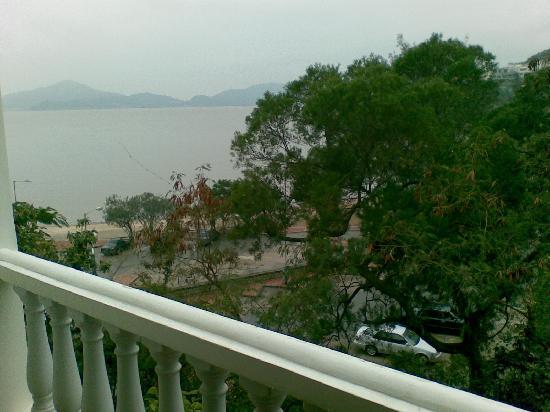 Pousada de Coloane Beach Hotel & Restaurant: Balcony view