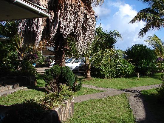 Hotel Oceania Rapa Nui: Vsita desde fuera de una habitación