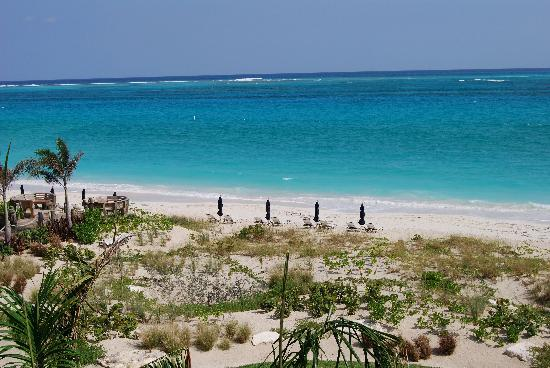 The Regent Grand: Our daily view of Grace Bay