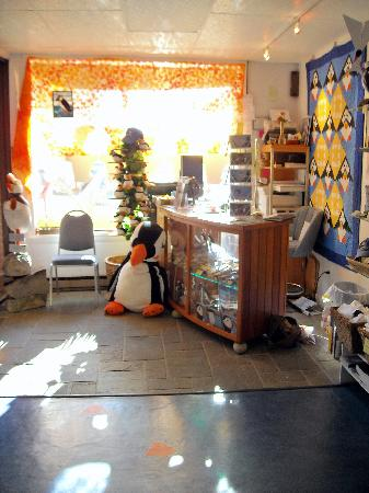Project Puffin Visitor Center : Inside the PPVC