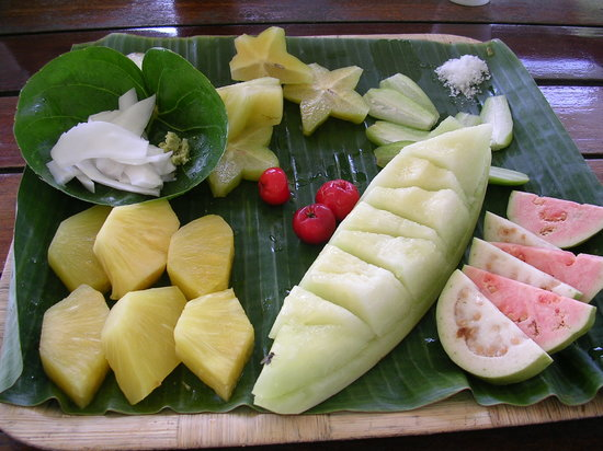 Yona, Mariana Islands: Fruit Platter