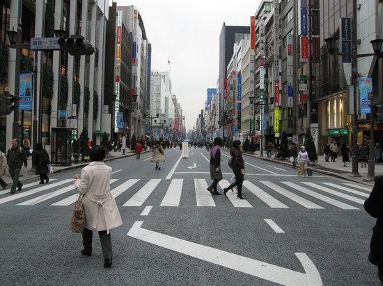 Chuo, Japan: 何事もないようなこの風景がいいですね