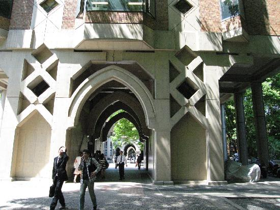University of Tokyo: 文系の通り廊下?