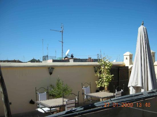 Dar Elma: la superbe terrasse