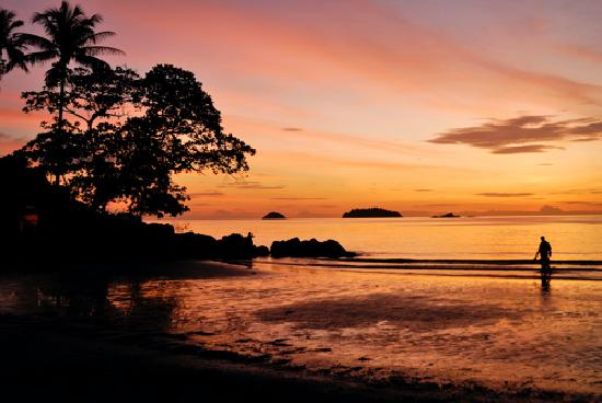 The Dewa Koh Chang: The beach