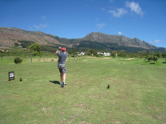 Steenberg Hotel: Fantastic course and surroundings.