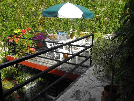 Hotel Mucuy: The 2nd floor deck
