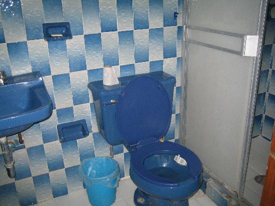 Hostal Casa Bertha: my bathroom
