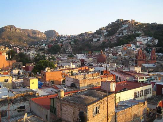 Casa Bertha: view from the top of the hostel