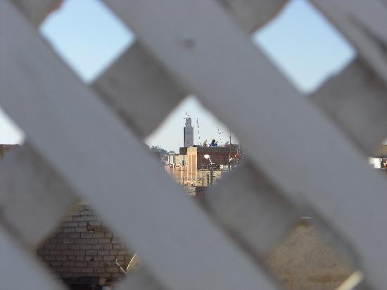Riad Menzeh : Depuis la terrasse solarium