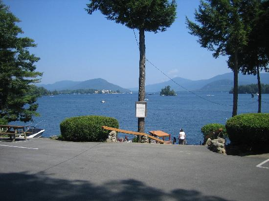 Bonnie View on Lake George: Lakeshore view # 1