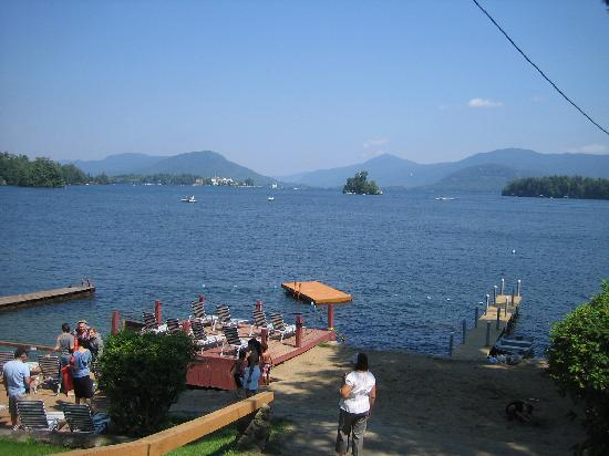 Bonnie View on Lake George: Lakeshore view # 2