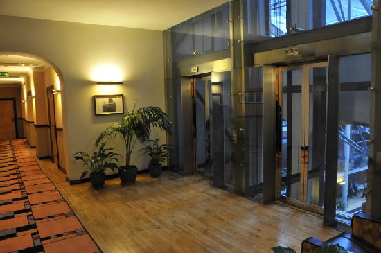 Hotel Monopol: Elevator