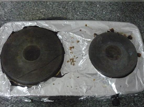 Reemyvera Resort & Marina : Dirty cooker