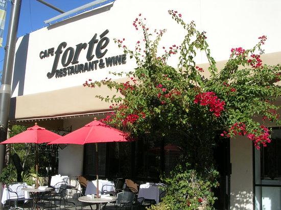 outside of Cafe Forte