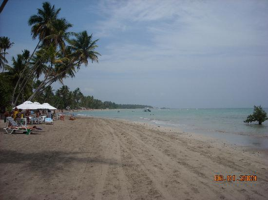 Pousada Villa Marraro: la playa