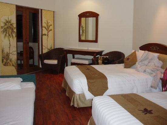 Grand Mirage Resort & Thalasso Spa - Bali: 入ってすぐの部屋です