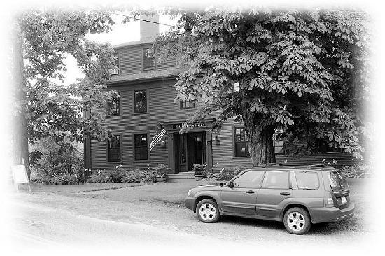 Pilgrim's Inn: The front of the inn