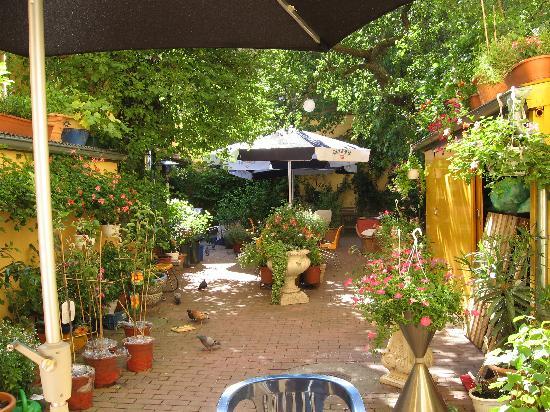 Goethe Hotel: Hotel Goethe's garden