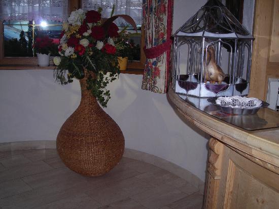 Hotel Posta Pederoa: Reception