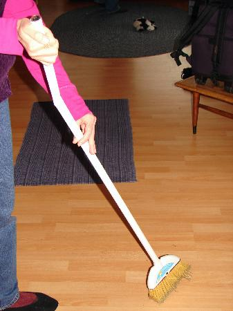 Whaleshead Beach Resort: Broom for Cleaning Up!