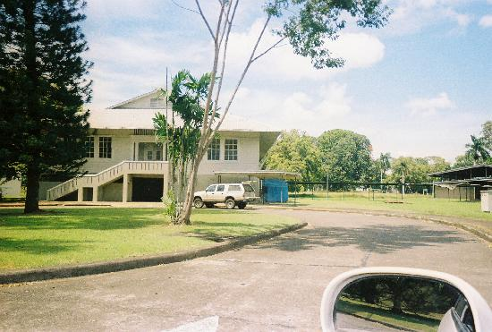 Ivan's Bed & Breakfast: A building in Gamboa. Most are from this era. The town is very interesting.