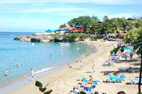 Casa Marina Reef: The private beach.