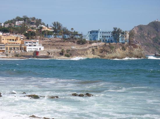Playa Olas Altas: Across the water, Olas Altas