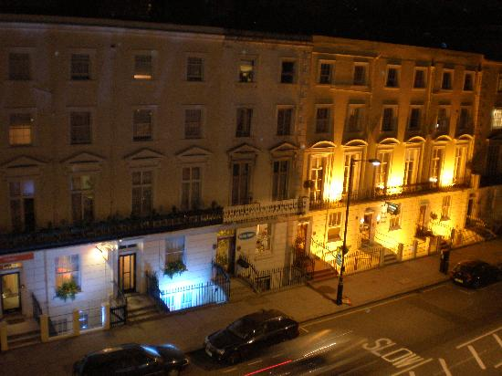 Winchester Hotel: View from our window