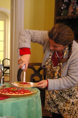 La Toscana di Carlotta: Carlotta and whipping cream :-)