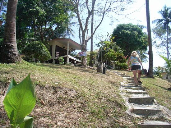 Bay View Resort: The steps could get a bit tiring