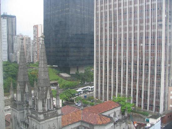 Hotel ibis Rio de Janeiro Centro : look from my window in the hotel