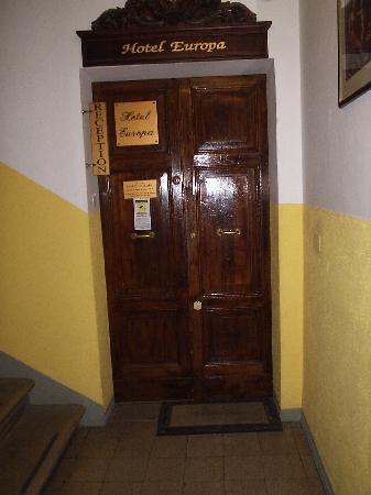Hotel Europa: ingresso reception